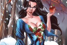 Grimm Fairy Tales Cover Art Book