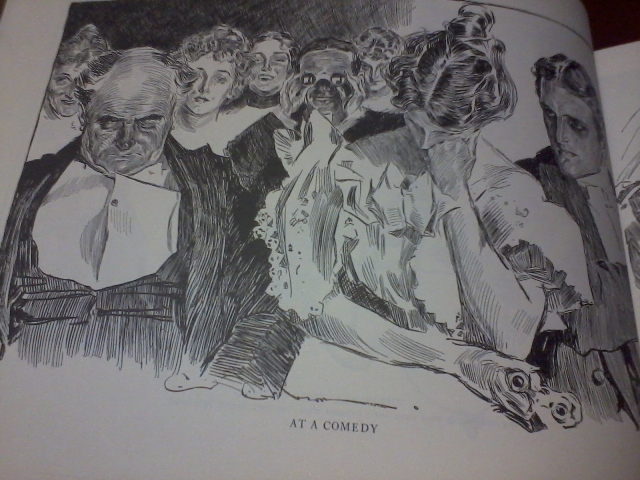 THE BEST OF CHARLES DANA GIBSON Illustrated HCDJ 1969 Victorian Girl Drawings
